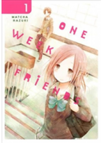 One Week Friends, Vol. 1   Hazuki Matcha, ISBN:  9780316414166