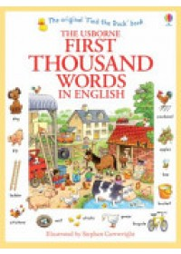 First Thousand Words in English   Amery Heather, ISBN:  9781409562894
