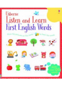 Listen and Learn First English Words   Taplin Sam, ISBN:  9781409582489