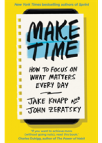 Make Time   Knapp Jake, ISBN:  9780593079584