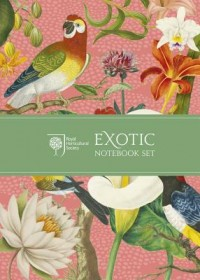 Royal Horticultural Society Exotic Notebook Set   Royal Horticultural Society, ISBN:  9780711239517