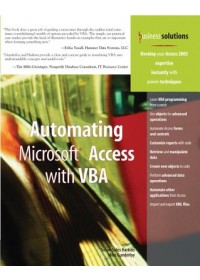 Automating Microsoft Access with VBA   Gunderloy Mike, ISBN:  9780789732446