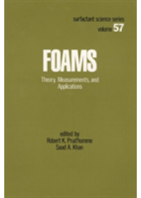 Foams   Prud'homme Robert K., ISBN:  9780824793951