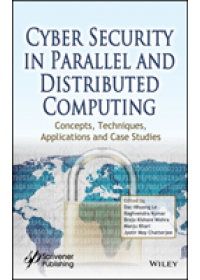 Cyber Security in Parallel and Distributed Computing   , ISBN:  9781119488057