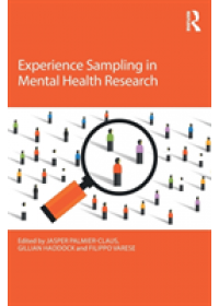Experience Sampling in Mental Health Research   , ISBN:  9781138212862