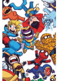Marvel Art Of Skottie Young   Young Skottie, ISBN:  9781302917654