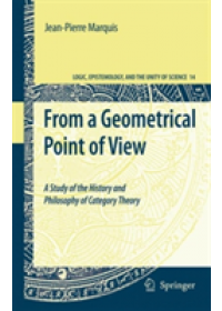 From a Geometrical Point of View   Marquis Jean-Pierre, ISBN:  9781402093838