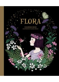 Flora Coloring Book   Trolle Maria, ISBN:  9781423653554