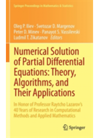 Numerical Solution of Partial Differential Equations: Theory, Algorithms and Their Applications   Iliev Oleg P., ISBN:  9781461471714