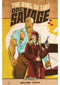 Doc Savage: The Ring of Fire   Avallone David, ISBN:  9781524104467