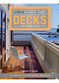 Ultimate Guide: Decks 5th Edition   Creative Homeowner, ISBN:  9781580117968