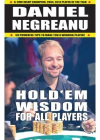 Hold'em Wisdom for All Players   Negreanu Daniel, ISBN:  9781580423816