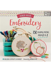 Lunch-Hour Embroidery   , ISBN:  9781604688986