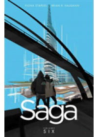 Saga, Volume 6   Vaughan Brian K., ISBN:  9781632157119