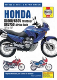 Honda XL600/650 Motorcycle Repair Manual   Haynes John H, ISBN:  9781785213113