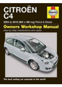 Citroen C4 Petrol and Diesel Owners Workshop Manual   Gill Peter, ISBN:  9781785213755