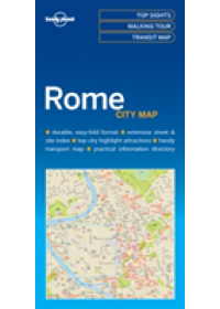 Lonely Planet Rome City Map   Lonely Planet, ISBN:  9781786577801