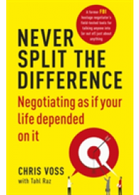 Never Split the Difference   Voss Chris, ISBN:  9781847941497