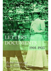 Letters and Documents   Steiner Rudolf, ISBN:  9781855845701