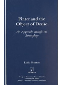 Pinter and the Object of Desire   Renton Linda, ISBN:  9781900755535