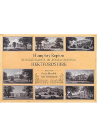 Humphry Repton in Hertfordshire   , ISBN:  9781909291980