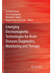 Emerging Electromagnetic Technologies for Brain Diseases Diagnostics, Monitoring and Therapy   , ISBN:  9783030091262