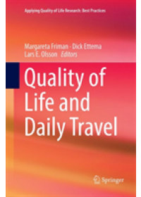 Quality of Life and Daily Travel   , ISBN:  9783030095376