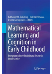 Mathematical Learning and Cognition in Early Childhood   , ISBN:  9783030128944