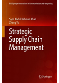 Strategic Supply Chain Management   Rehman Khan Syed Abdul, ISBN:  9783030150570