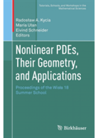 Nonlinear PDEs, Their Geometry, and Applications   , ISBN:  9783030170301