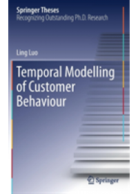 Temporal Modelling of Customer Behaviour   Luo Ling, ISBN:  9783030182885