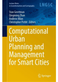 Computational Urban Planning and Management for Smart Cities   , ISBN:  9783030194239