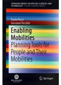 Enabling Mobilities   Pucci Paola, ISBN:  9783030195809