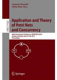 Application and Theory of Petri Nets and Concurrency   , ISBN:  9783030215705