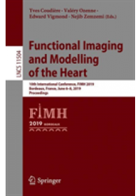 Functional Imaging and Modelling of the Heart   , ISBN:  9783030219482