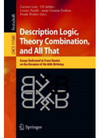 Description Logic, Theory Combination, and All That   , ISBN:  9783030221010