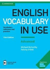 English Vocabulary in Use. Advanced. 3rd Edition. Book with answers and Enhanced ebook   , ISBN:  9783125410237