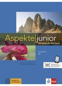 Aspekte junior B2. Kursbuch mit Audio-Dateien zum Download   Moritz Ulrike, ISBN:  9783126052542