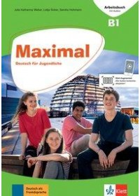 Maximal B1. Arbeitsbuch mit Audios (MP3-files zum Download)   Weber Julia Katharina, ISBN:  9783126767514