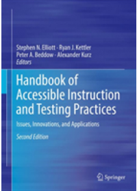 Handbook of Accessible Instruction and Testing Practices   , ISBN:  9783319711256