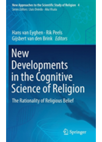 New Developments in the Cognitive Science of Religion   van Eyghen Hans, ISBN:  9783319902388