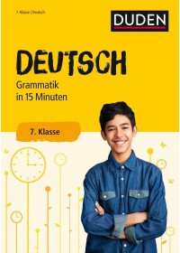 Duden - Deutsch in 15 Minuten - Grammatik 7. Klasse   , ISBN:  9783411732128
