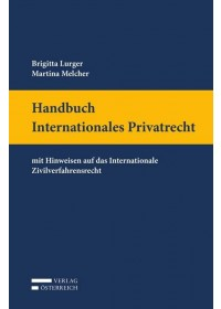 Handbuch Internationales Privatrecht   Melcher Martina, ISBN:  9783704677105