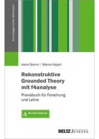 Rekonstruktive Grounded Theory mit f4analyse   Hajart Marco, ISBN:  9783779961109
