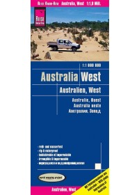 Reise Know-How Landkarte Australien, West 1 : 1.800.000   , ISBN:  9783831773275