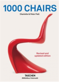 1000 Chairs   Fiell Charlotte & Peter, ISBN:  9783836563697