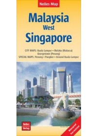 Nelles Map Malaysia: West, Singapore 1 : 1 500 000 /  1 : 15 000   , ISBN:  9783865745392