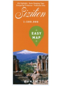 EASY MAP Sizilien 1:550.000   , ISBN:  9783955047818