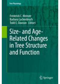 Size- and Age-related Changes in Tree Structure and Function   Meinzer Frederick C., ISBN:  9789400737693