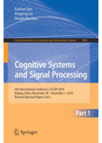 Cognitive Systems and Signal Processing   , ISBN:  9789811379826